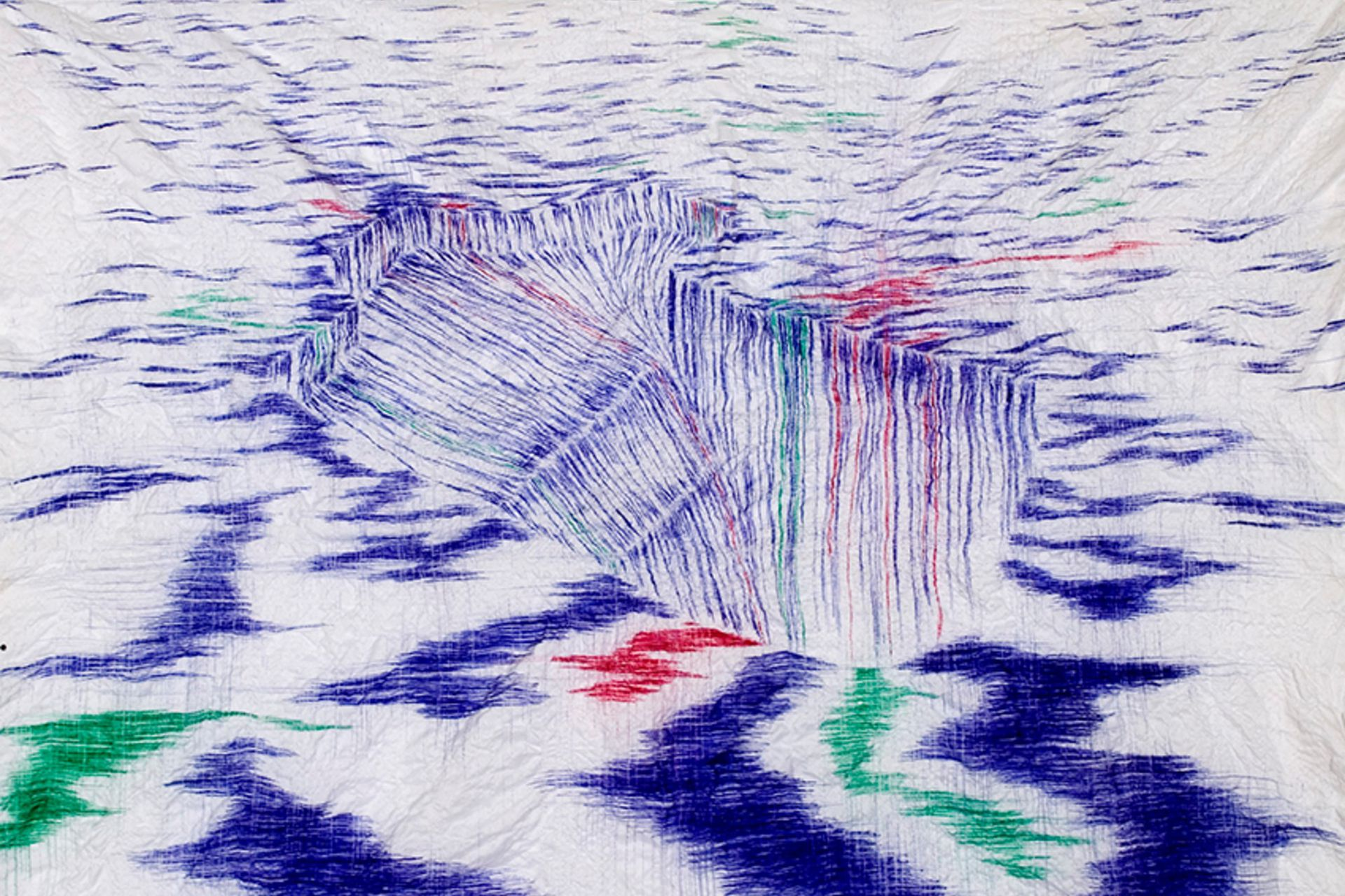Sin título (2006), de Matías Duville. Se rematará con una base de 16.000 dólares