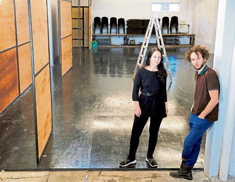 El nuevo espacio se abre hoy, con una obra coreográfica