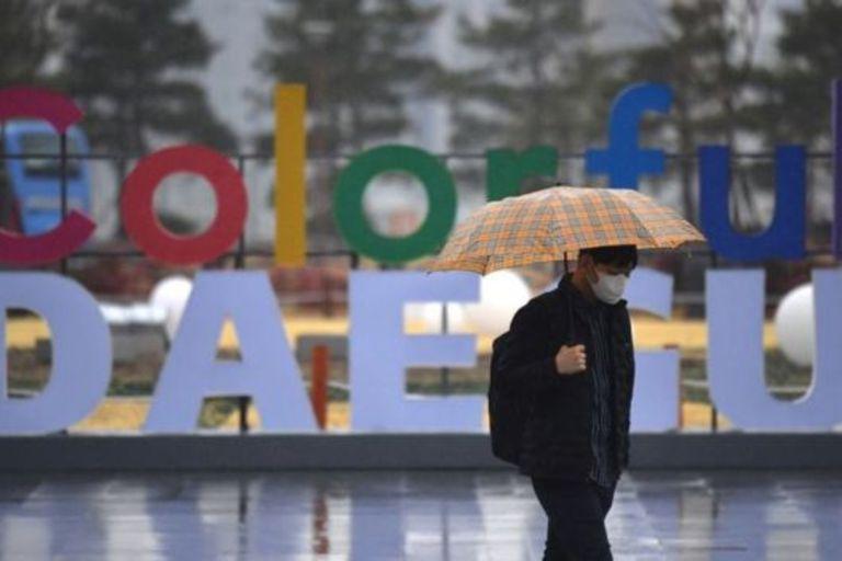 Daegu es la ciudad surcoreana donde originó el brote dentro del país asiático