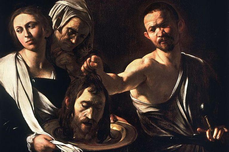 Salomé con la cabeza de Juan el Bautista, de Caravaggio, apareció en 2004 en un desván
