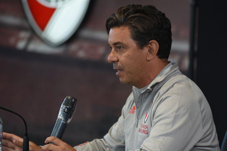 Conferencia de prensa de Marcelo Gallardo, DT de River Plate