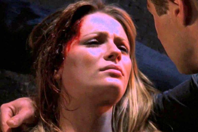 Mischa Barton, en la escena final de su personaje en The O.C.