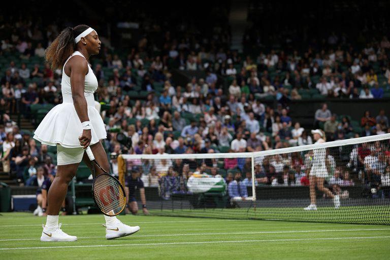 Serena Williams sufrió una despedida tan inesperada como dolorosa en el All England