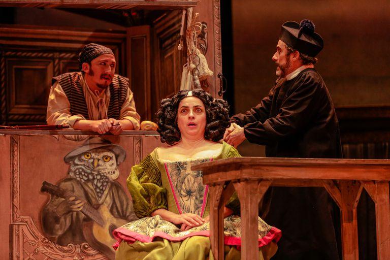 El Teatro Nacional Cervantes celebra sus 100 años de vida con una comedia de época