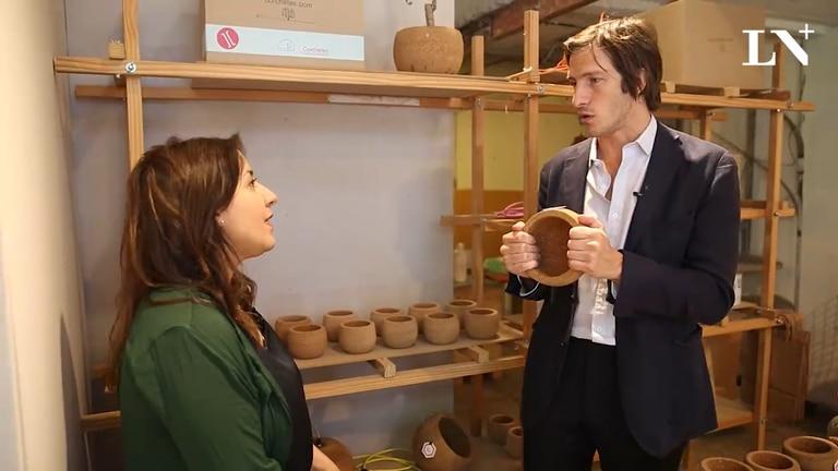 En Perdidos en Buenos Aires, Iván de Pineda visitó el local de Corchetes