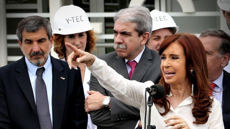 Cristina Kirchner encabeza un acto oficial en Bariloche
