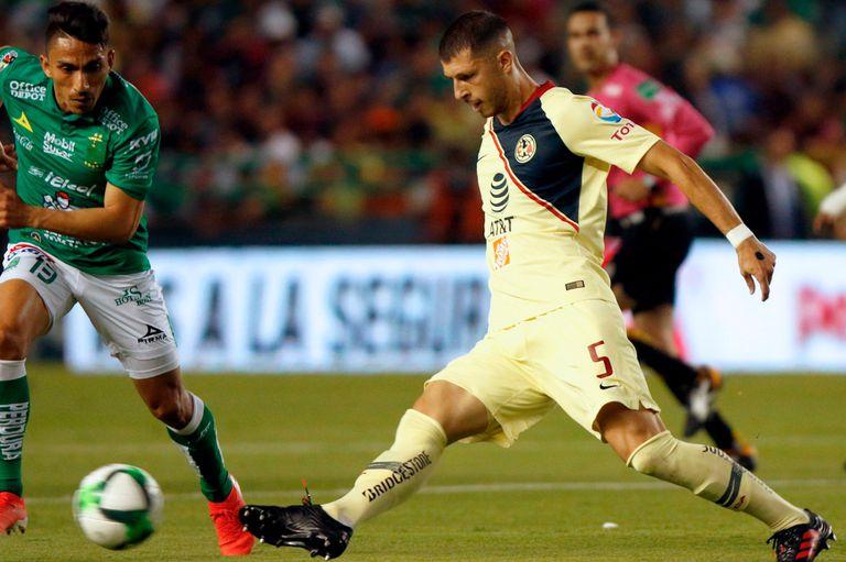 Guido Rodríguez, jugador del América de México, convocado por Scaloni