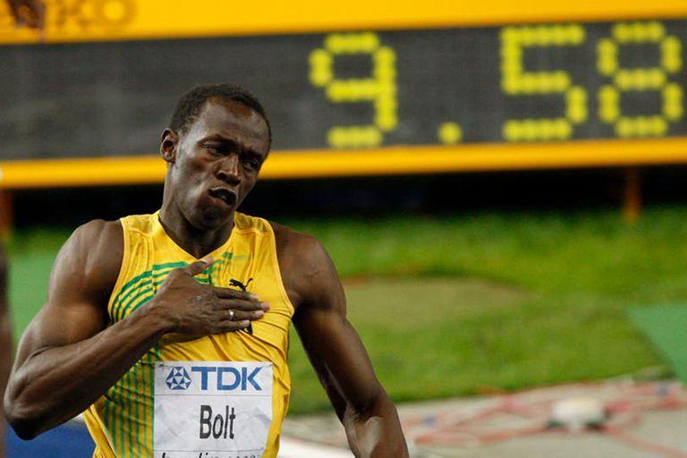ADN, fibra y zancada: el día que Usain Bolt rompió las leyes de la física