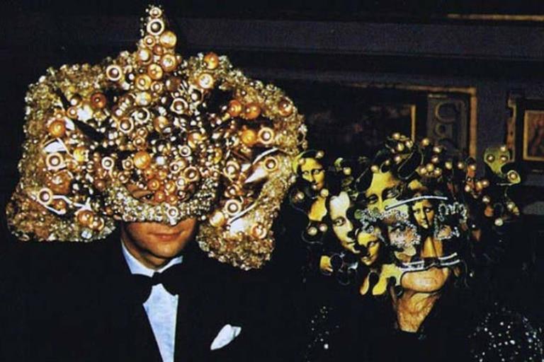 Los diseños de las máscaras eran sofisticados y, en algunos casos, muy trabajados y lujosos