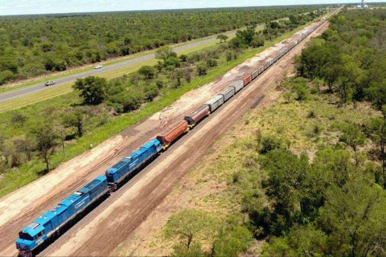 Creció 2,5 veces el transporte de cargas por tren desde 2015