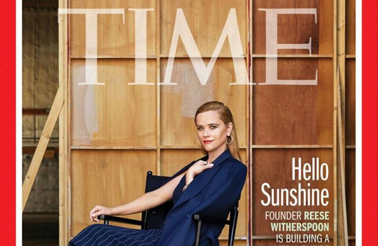 Reese Whiterspoon fue tapa de la revista Time por el éxito de su productora