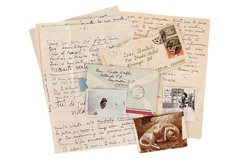 Frida Kahlo, Rivera, Dalí, Picasso, Van Gogh y los secretos de sus misivas