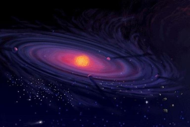 """Astronomía: descubren una """"conspiración cósmica"""" que creó la nube Oort"""