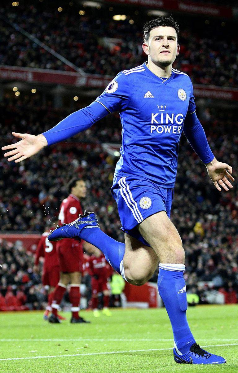 Maguire se convirtió en el defensor más caro de la historia: Manchester United pagó 88 millones de euros
