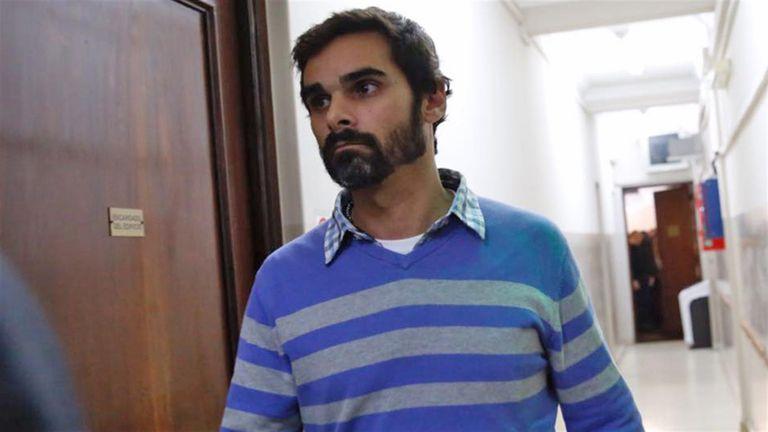 Santiago Silvoso, el día que concurrió a Tribunales por primera vez