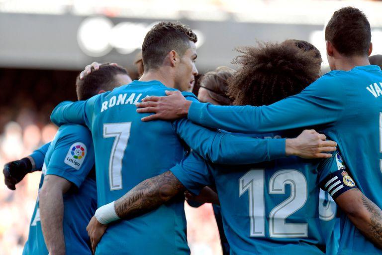 Valencia-Real Madrid, Liga de España: el equipo de Zidane goleó y tomó oxígeno