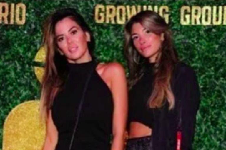 """Karina Jelinek y Florencia Parise, a quien la modelo definió como su """"compañera de vida"""""""