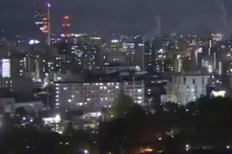 Residentes del noroeste japonés captaron el terremoto en sus celulares