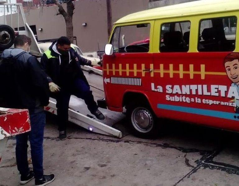 """Se quedó la """"Santileta"""""""