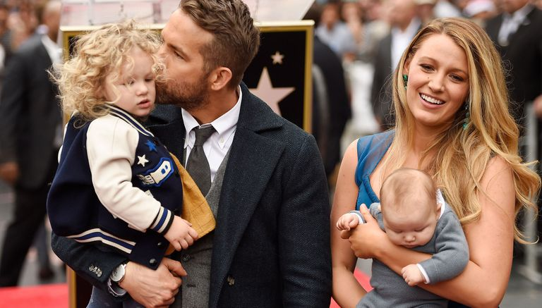 Mimos y abrazos para las pequeñas de Ryan Reynolds y Blake Lively