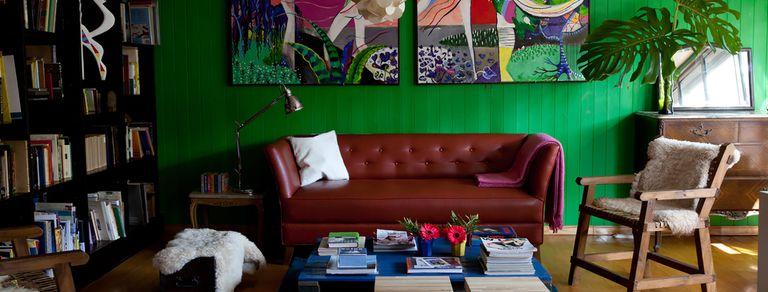 En San Isidro. Una casa con todos los colores de una familia de artistas