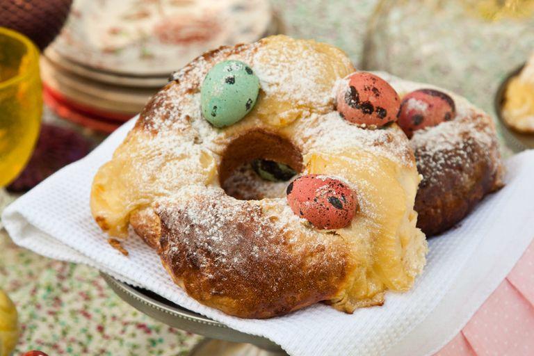 Mini roscas de Pascua