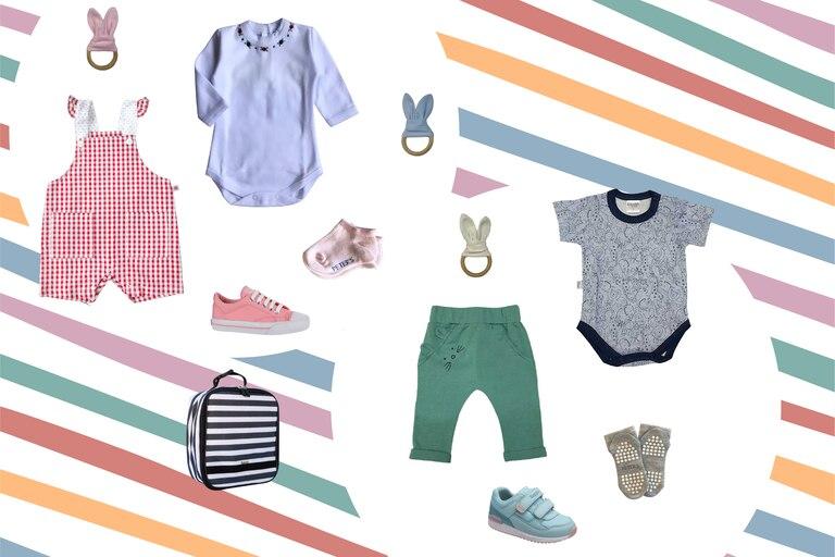 La ropa de bebé debe cumplir con tres rasgos: ser funcional, cómoda y vivaz