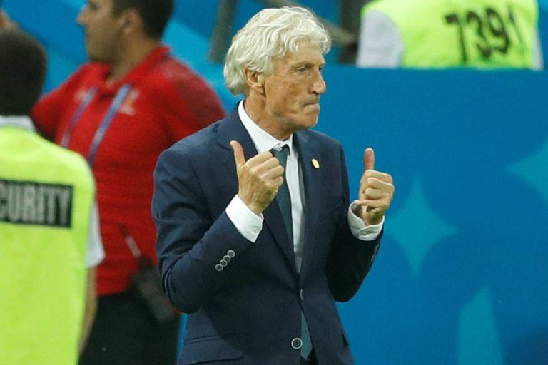 Todo bien: Pekerman celebra la victoria de Colombia sobre Polonia