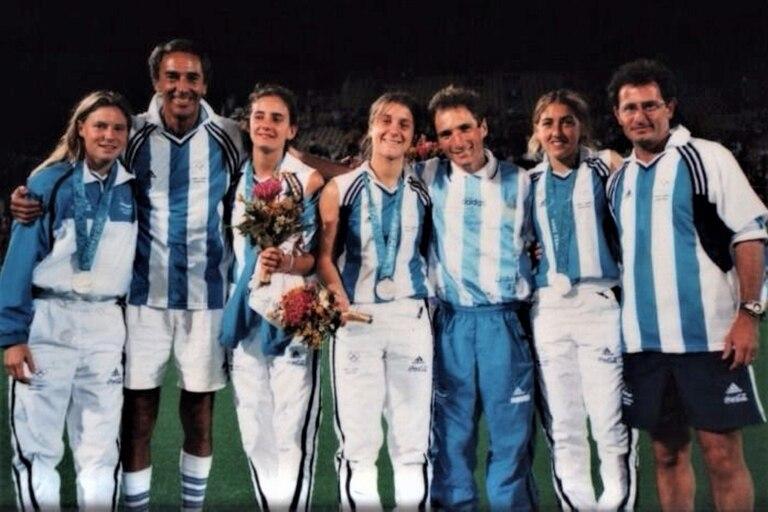 Ayelén Stepnik, el Profe Barrionuevo, Lucha Aymar, Inés Arrondo, Sergio Vigil, Maripi Hernández y Gaby Minadeo