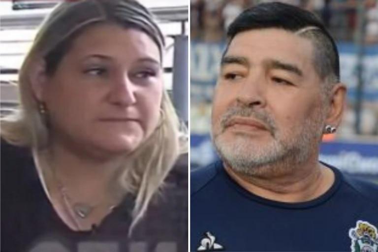 """""""Monona"""", la cocinera de Diego Maradona, contó cómo fue la última vez que vio al ídolo deportivo y contradijo las versiones oficiales"""