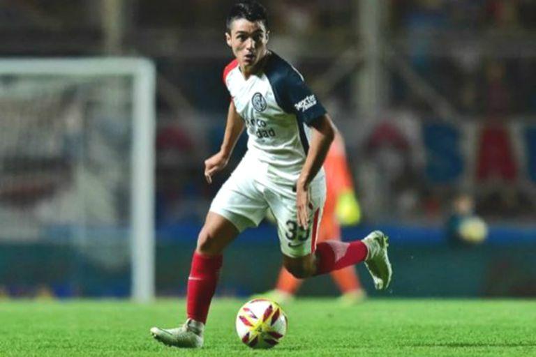 Matías Palacios, la joya que San Lorenzo blindó en 20 millones de dólares