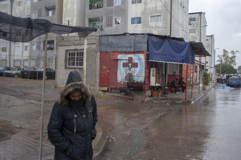 Los habitantes del barrio Padre Mugica esperan que se mantenga el operativo policial