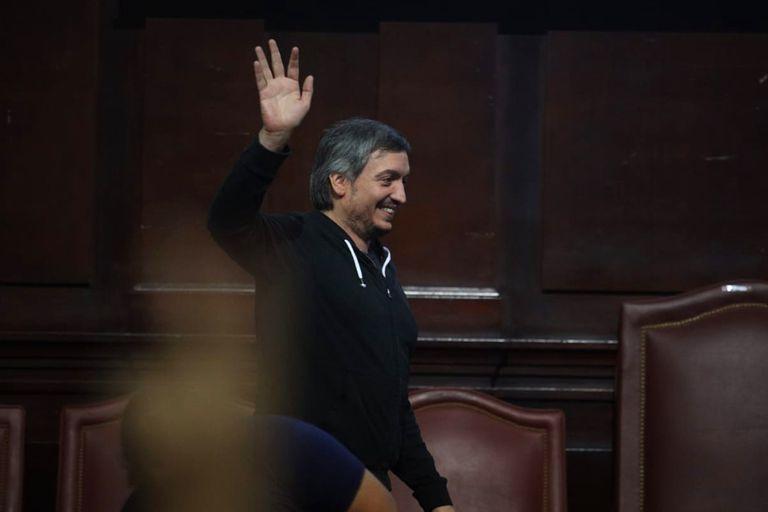 Máximo Kirchner, en una foto reciente en el Congreso