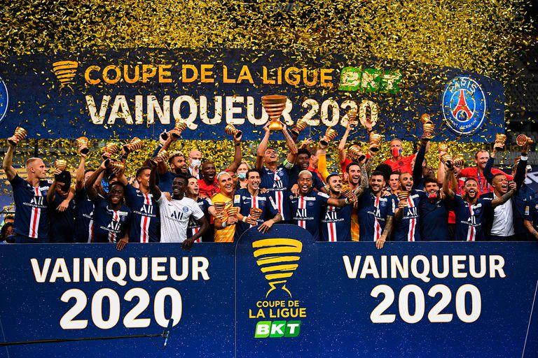 Campeón en los penales: PSG venció a Lyon en la final de la Copa de la Liga