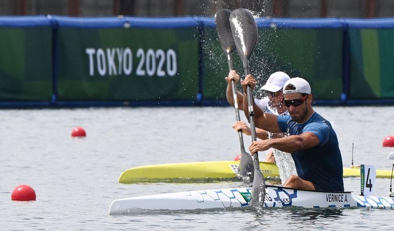 Directo a las semifinales: Agustín Vernice, la esperanza argentina en kayak