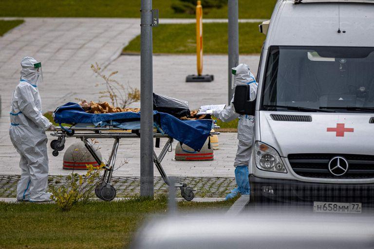 Rusia no para de batir récords de muertes por Covid y el sistema de salud está en alerta