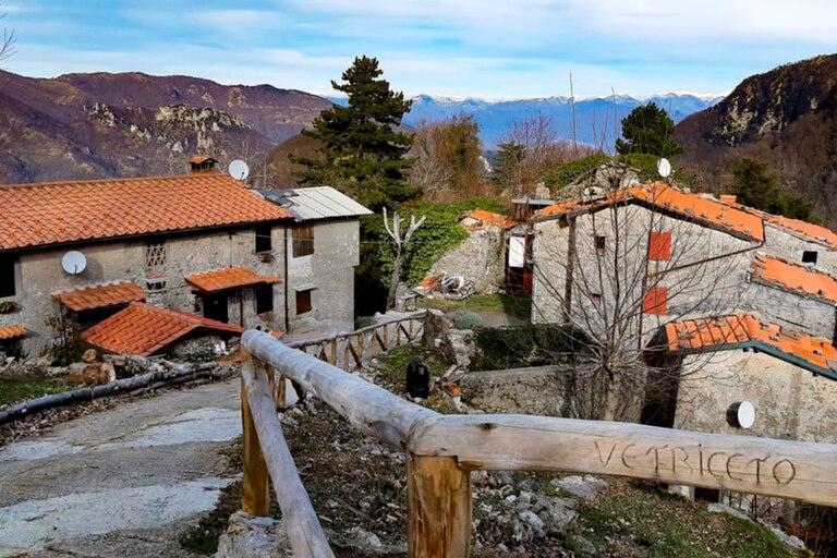 La zona de la región de Toscana donde Douglas Roque compró su propiedad