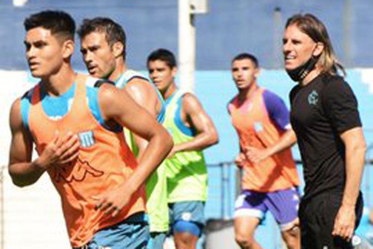 Racing ya tiene puesta la cabeza en Boca para el cruce en la Copa Libertadores