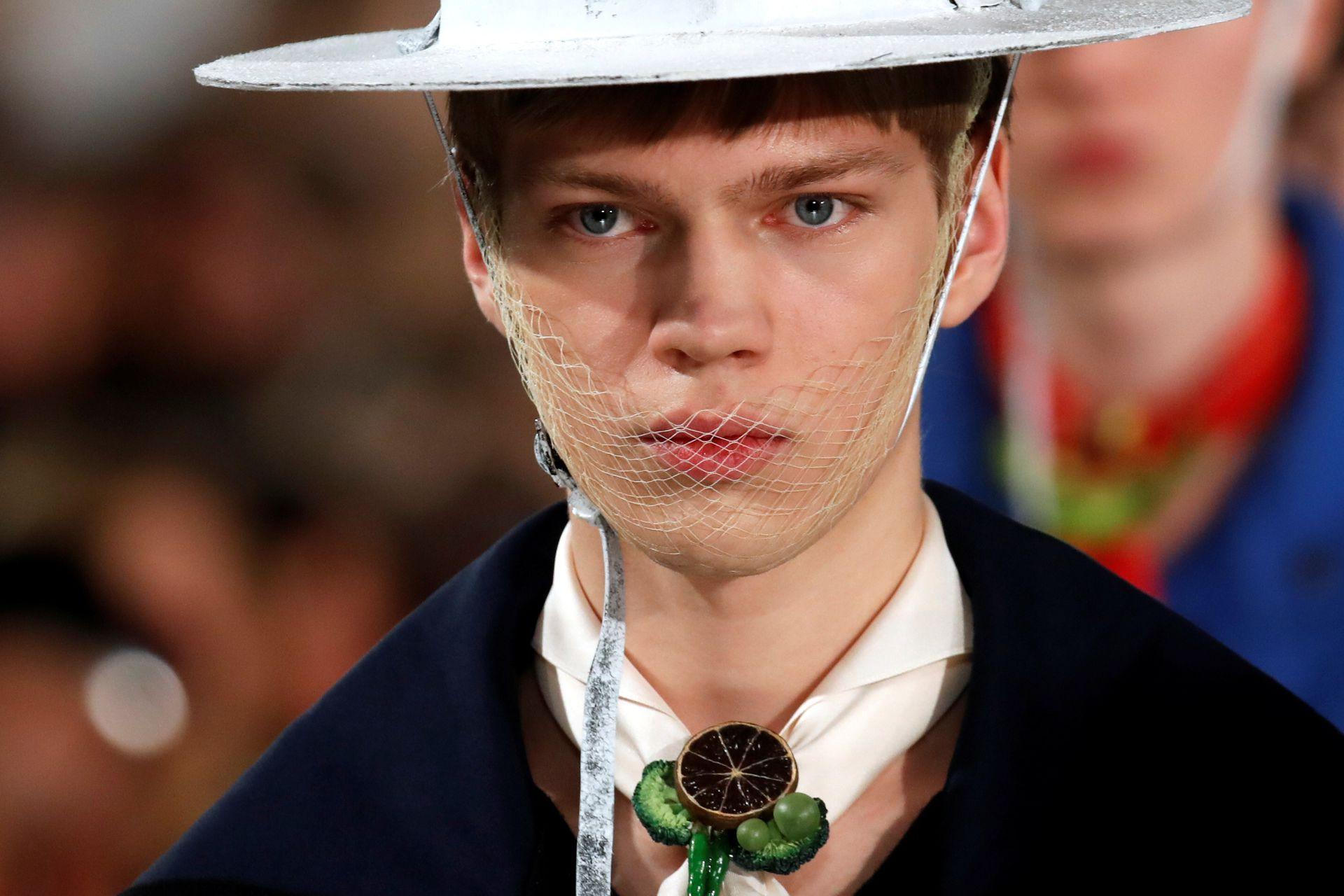 Colección de John Galliano para Maison Margiela, en París Fashion Week 2020