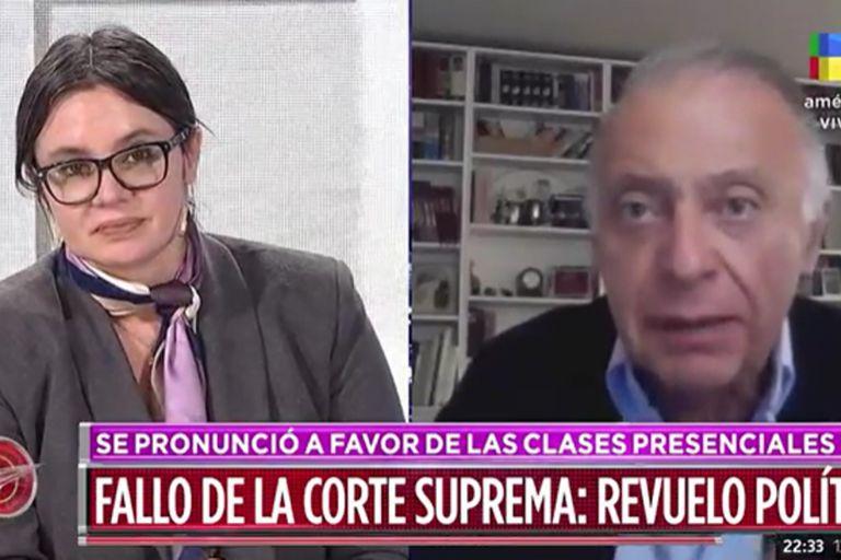 """""""Falsedad absoluta"""", el fuerte cruce entre Gisela Marziotta y un abogado"""