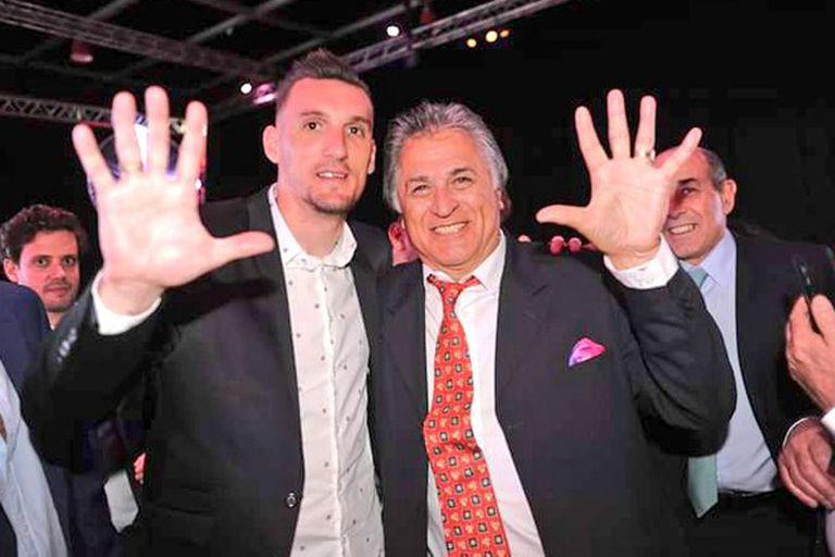 Con Franco Armani, uno de los favoritos del Pato Fillol en la actualidad