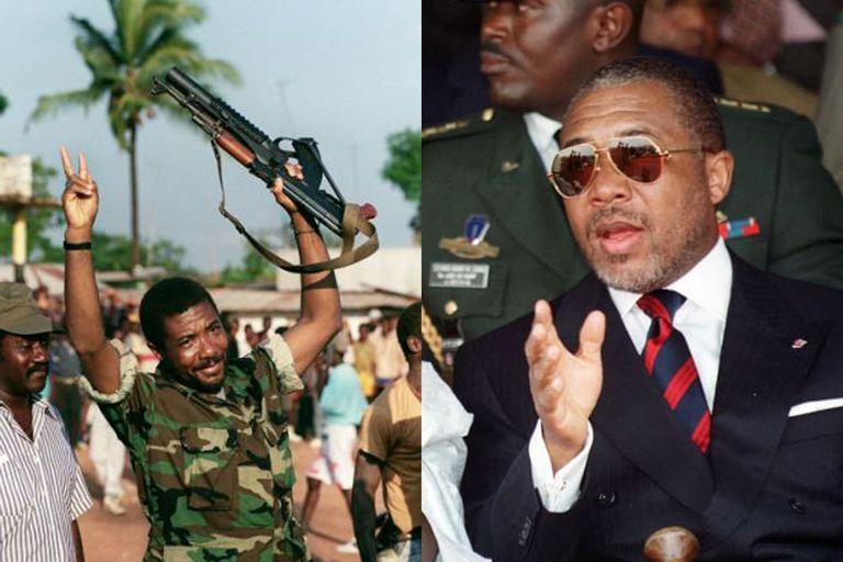 Charles Taylor se convierte en presidente de Liberia en 1997