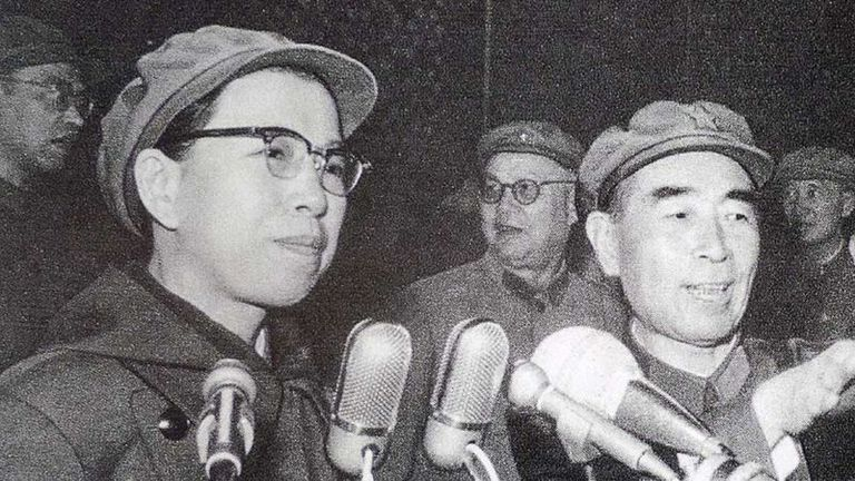 La cuarta y última esposa de Mao, Jiang Qing, jugó un papel clave en la Revolución Cultural de 1966-76, que dejó profundas heridas en China