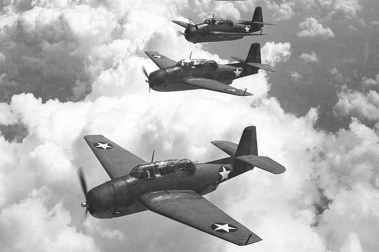 Uno de los incidentes más conocidos fue la desaparición de cinco bombarderos TBM Avenger de la Marina de Estados Unidos