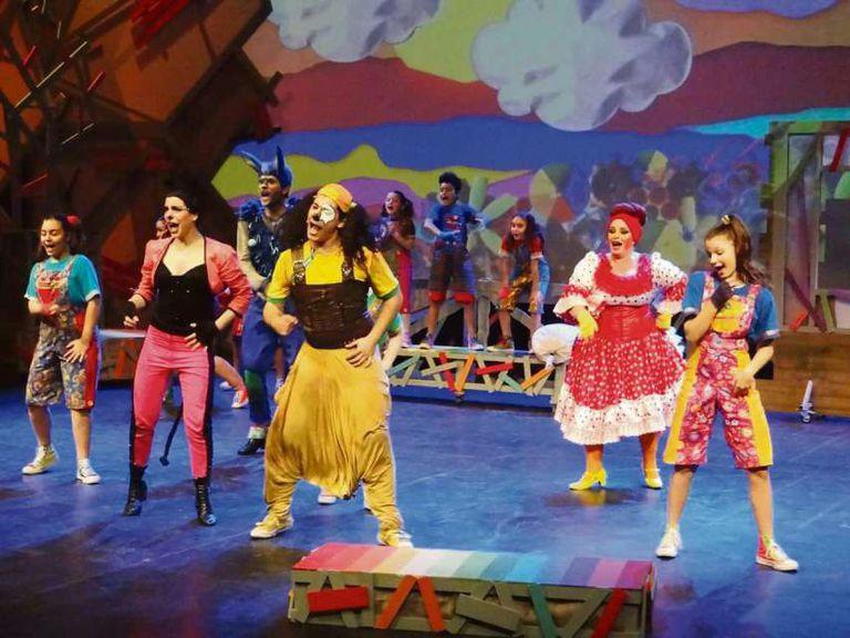 Gran festival internacional para niños en Tecnópolis