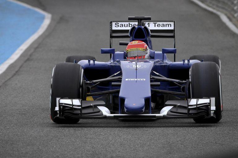 Felipe Nasr sorprendió con su Sauber en Jerez de la Frontera