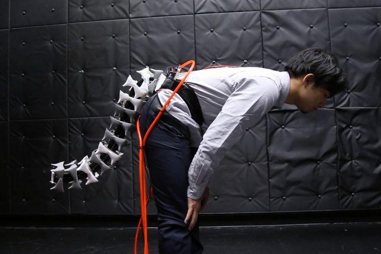 El sistema robótico Arque emula las funciones de la extremidad presente en felinos y primates, utilizada para mantener el equilibrio