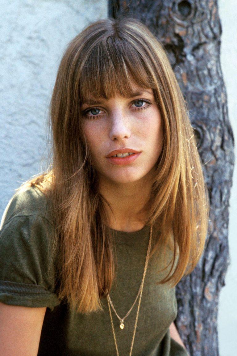 Un retrato a color de Jane de los años 60.