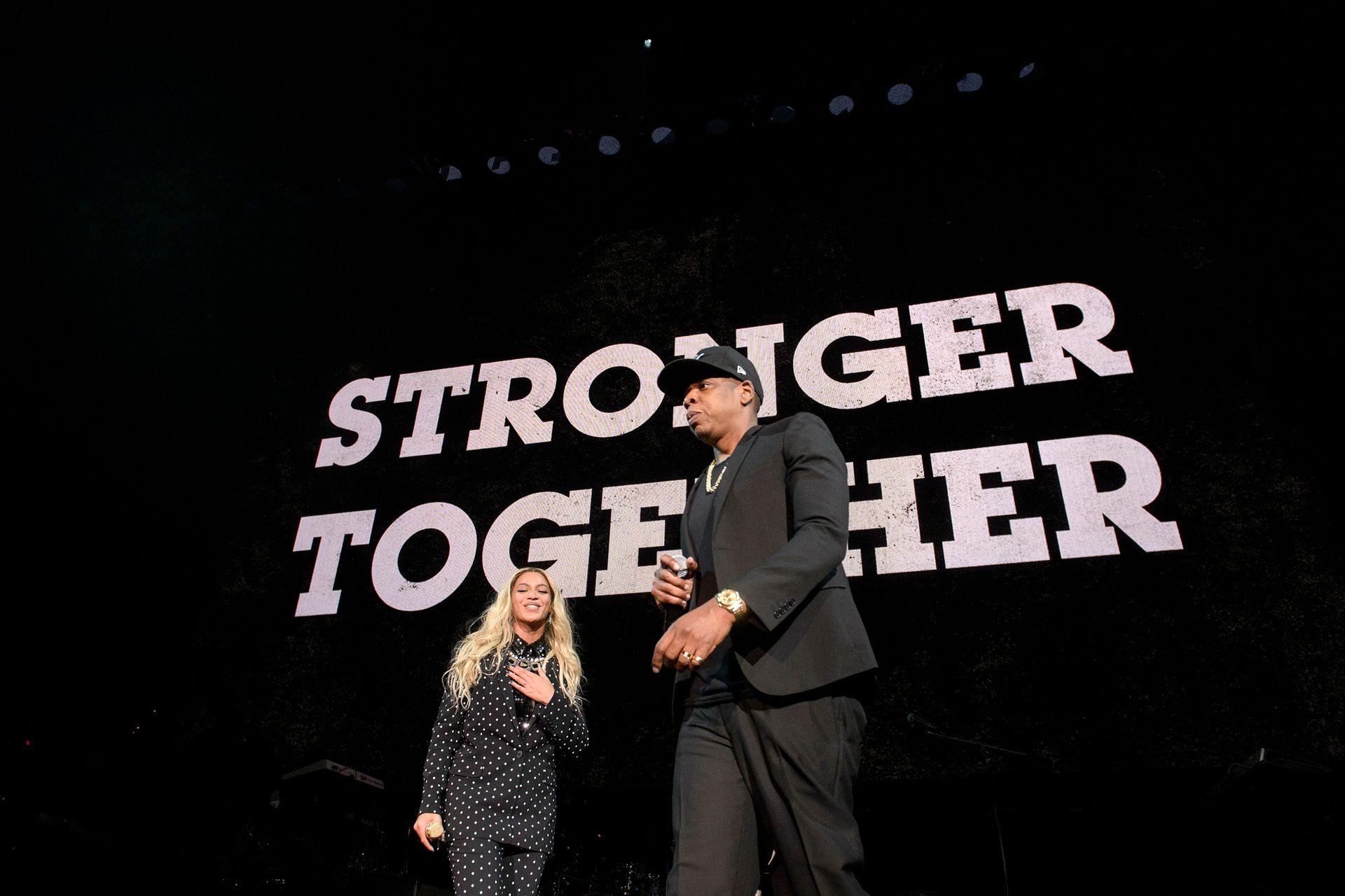 Juntos somos más fuertes: Beyoncé y Jay Z, en escena