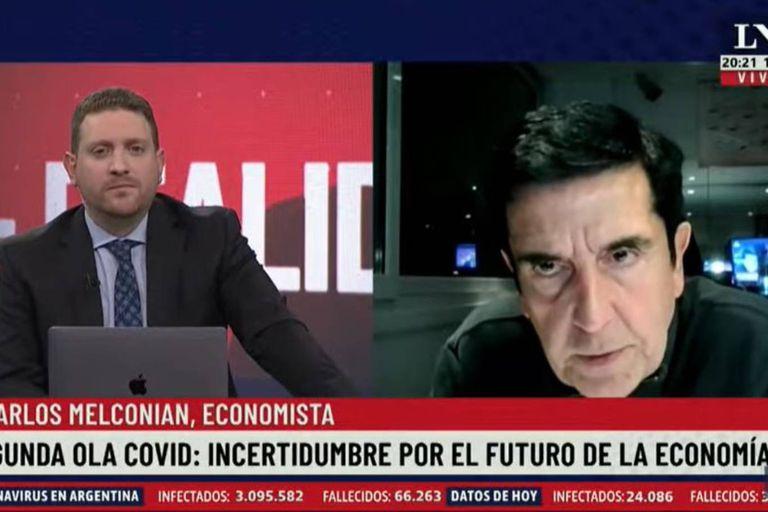 """Melconian: """"Por primera vez el kirchnerismo será un populismo sin plata"""""""